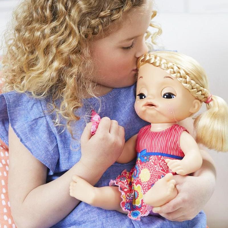 2019孩之宝淘气宝贝小仙女娃娃 好心情 爱哭 爱心宝宝双子星C4050