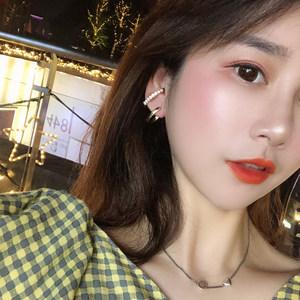 店主推荐韩国银针冷淡系个性女耳环
