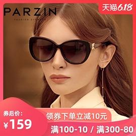 帕森新款太阳镜女经典板材偏光墨镜蝴蝶腿水钻驾驶太阳眼镜9612图片