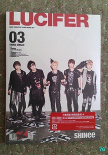 First Press Edition typically pay within the disc postcard Spot Japanese version of SHINee Lucifer