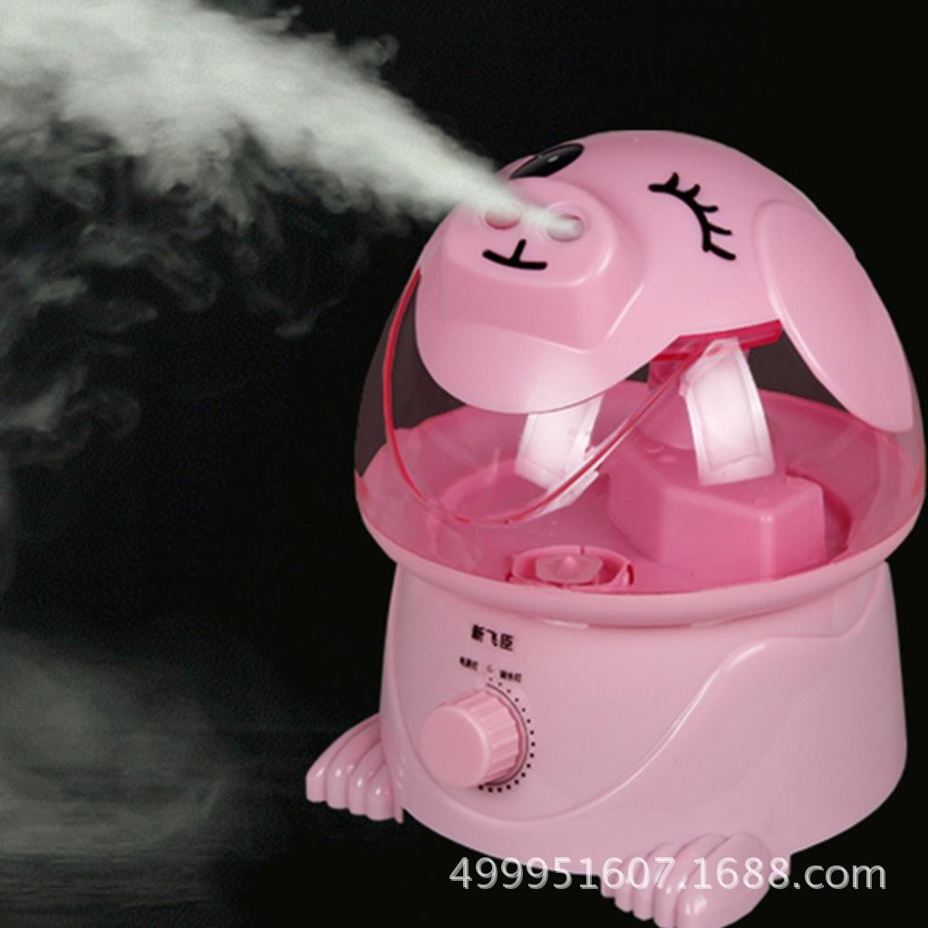 漫画の加湿器の家庭用静かな音の寝室の大容量の知能の濃い霧の空気は赤ちゃんのミニエアコンの部屋の香を妊娠します。