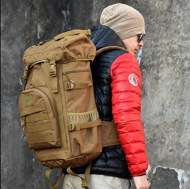 天天特價正品55L大容量特種兵<俄羅斯軍用背包戶外登山戰術背囊