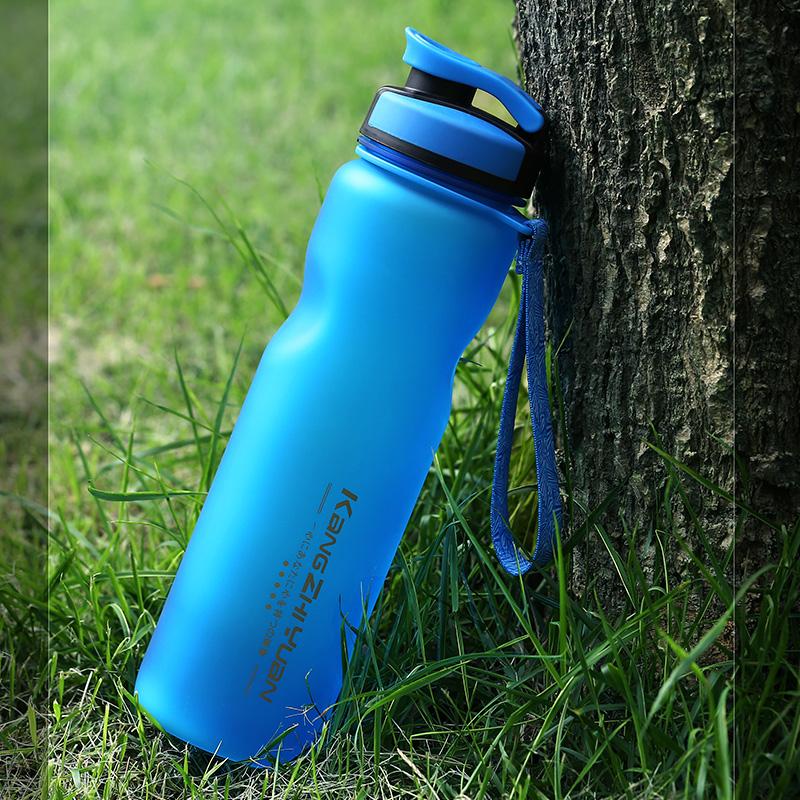 大容量塑料水杯學生戶外 水壺男簡約隨手 便攜水瓶磨砂杯子