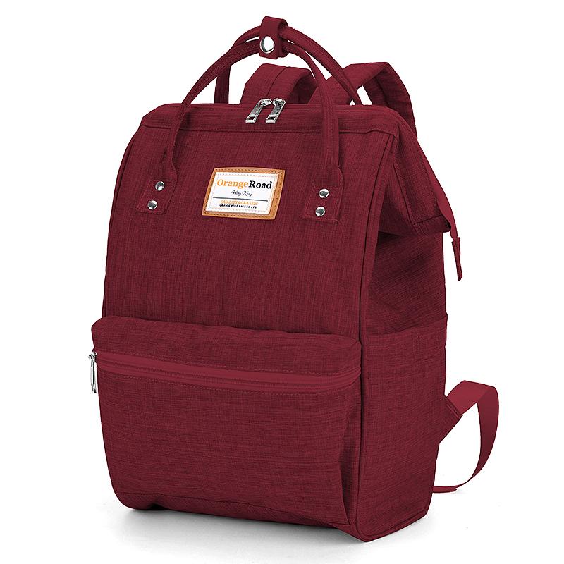 电脑包女大容量背包ins风初中生森系书包女韩版高中双肩包大学生