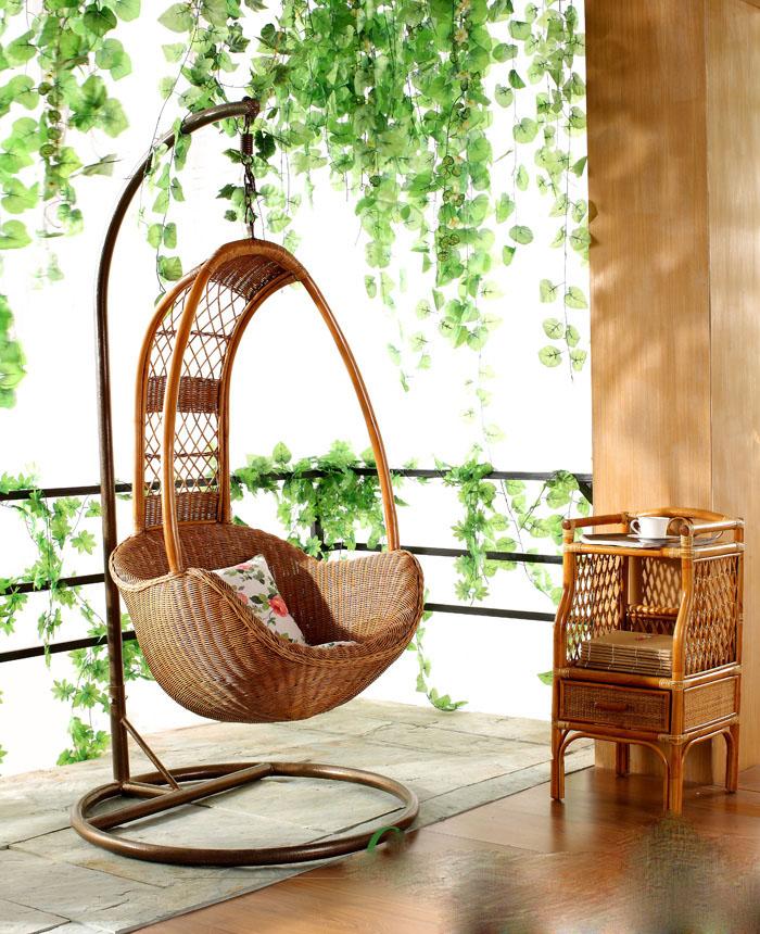 券后160.00元真藤吊椅鸟巢吊篮印尼进口户外躺椅