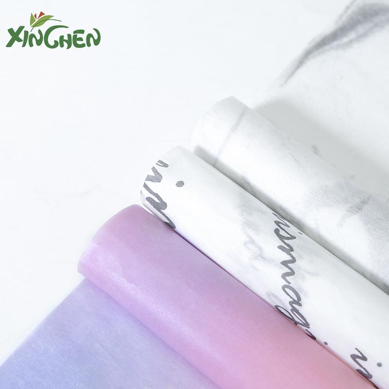 欣辰雪梨纸图案款韩国进口鲜花花束礼品包装纸内衬材料保鲜纸