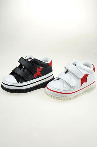 春秋防滑学步鞋宝宝童鞋软底机能鞋叫叫鞋皮鞋W364内长12-12.5