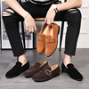 2019 summer Bullock new pattern England man business affairs leisure time Trend leather shoes ventilation Large leather shoes Korean Edition