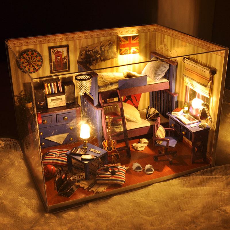 diy手工制作小房子模型拼装玩具限时秒杀