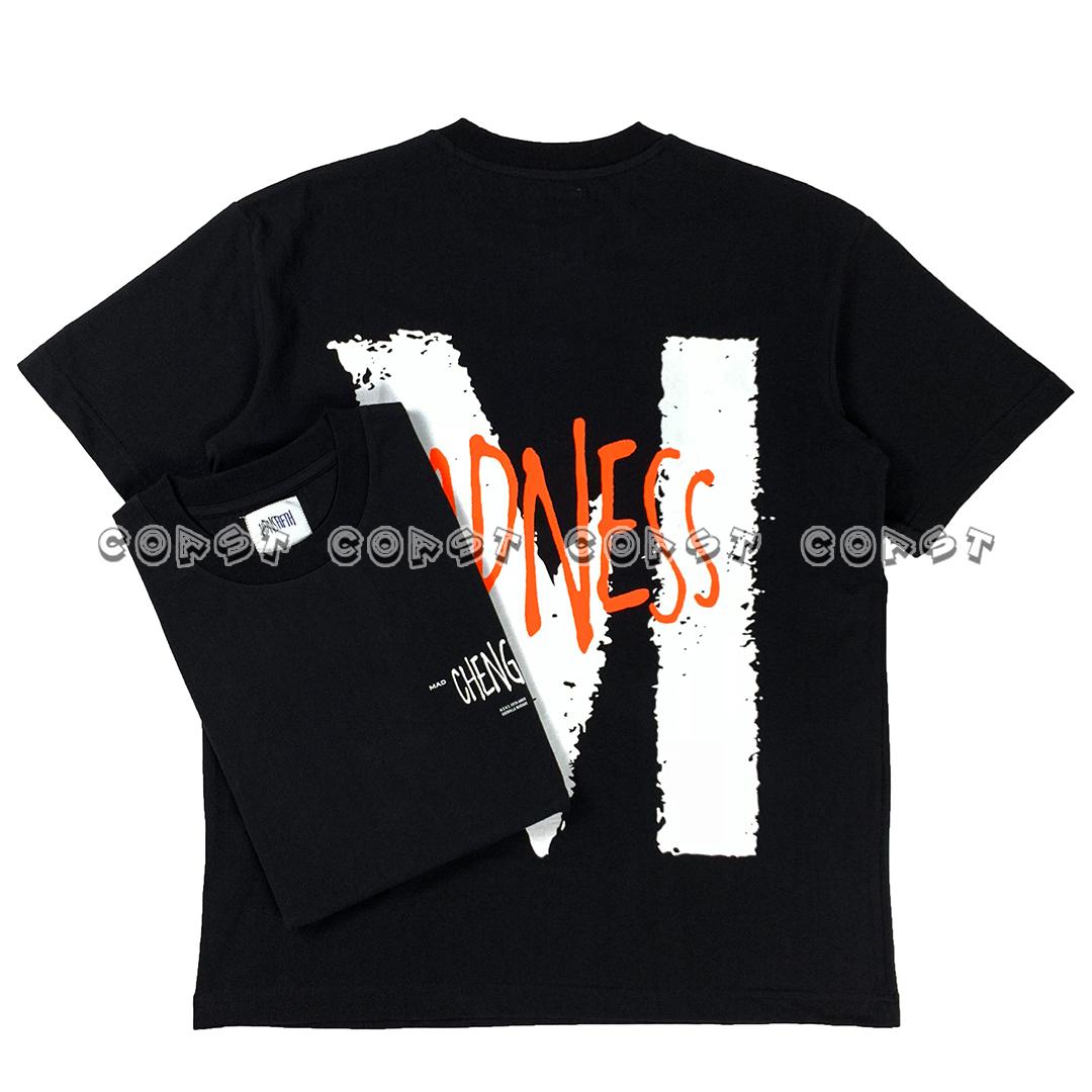 MADNESS MDNSFIFTH PRINT TEE 19SS 五周年限定印花短袖T恤余文乐