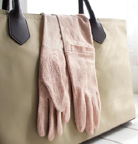 防晒袖套防紫外线户外开车夏季长款手套冰感包邮蕾丝薄款纯棉触屏
