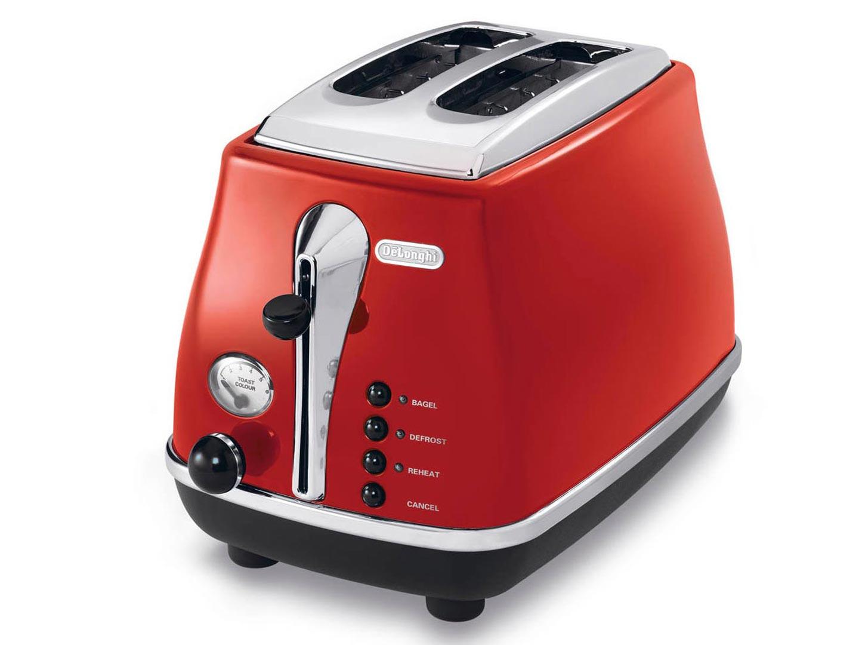 意大利Delonghi/德龙 CTO2003R多士炉全自动土司机家用烤面包机