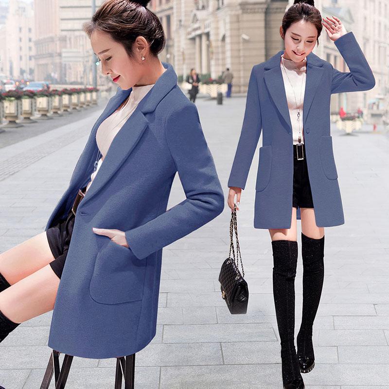 Женские шерстяные пальто Артикул 602339227919