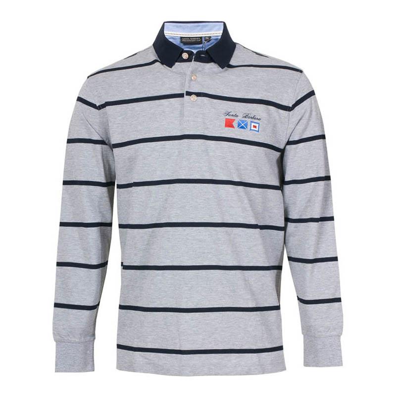 St. Pauls mens spring top casual Lapel long sleeve T-shirt