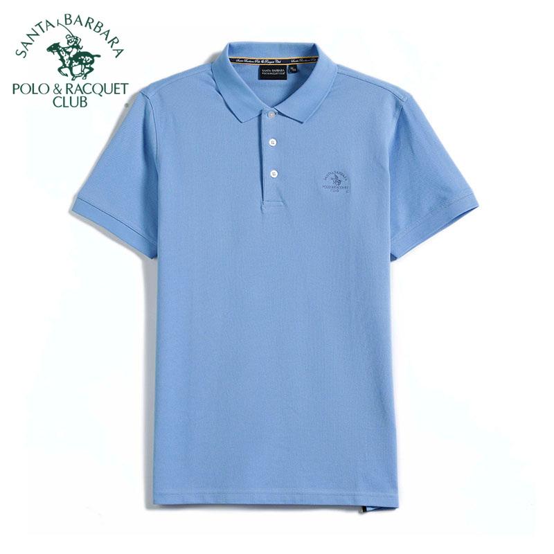 S. B.p.r.c / St. Paul mens business casual fit Lapel short sleeve T-shirt