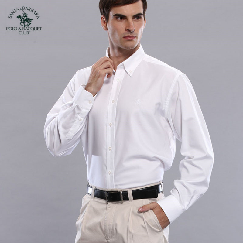 S. B.p.r.c / St. Paul mens spring and summer thin business casual Long Sleeve Shirt
