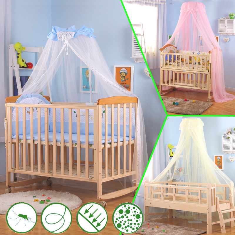 Baby bed mosquito net with bracket baby bed mosquito net baby bed mosquito net child bed mosquito net juvenile bed mosquito net full cover