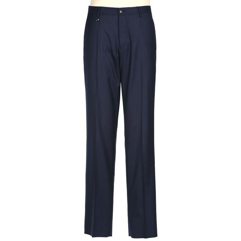 Jinlilai wool mulberry silk solid color trousers summer business formal middle-aged trousers mpd19151542-95