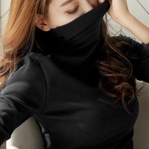 跑量款 薄款高领打底衫女长袖秋冬韩版女装保暖修身显瘦体恤女