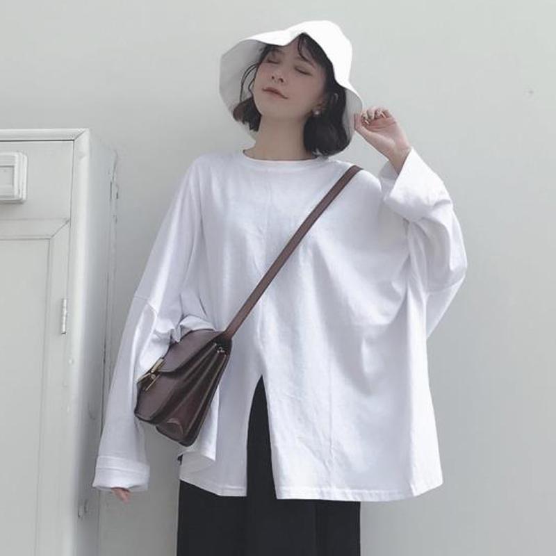 10月21日最新优惠2019秋季新款韩版设计感小众t恤