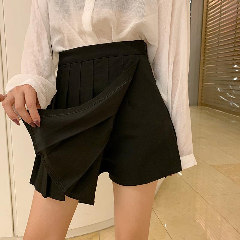 秋装2019新款甜美学院风高腰半身裙满30.00元可用0.22元优惠券
