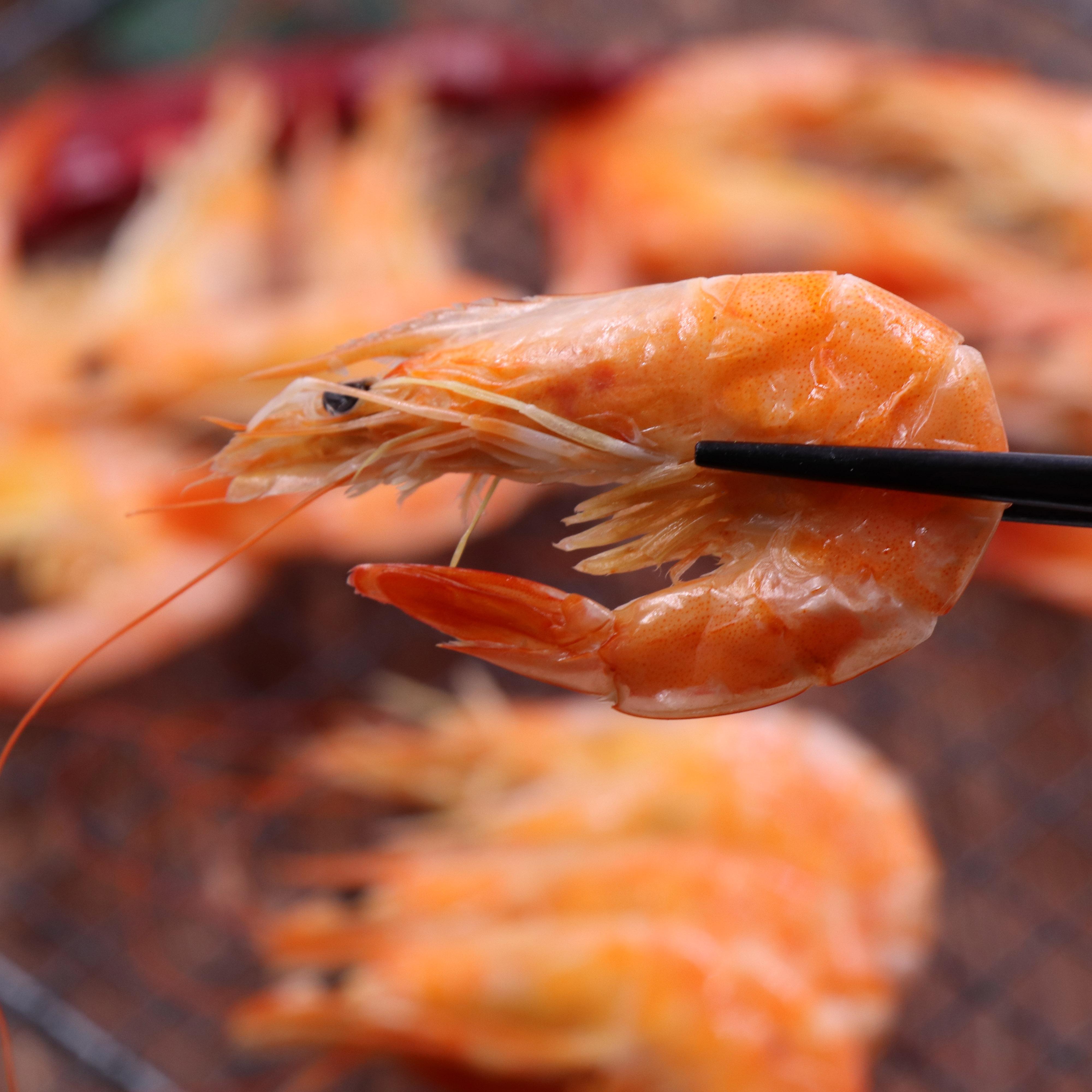宁波舟山特产东海虾干即食烤虾干虾对虾干海鲜水产干货 250g/包
