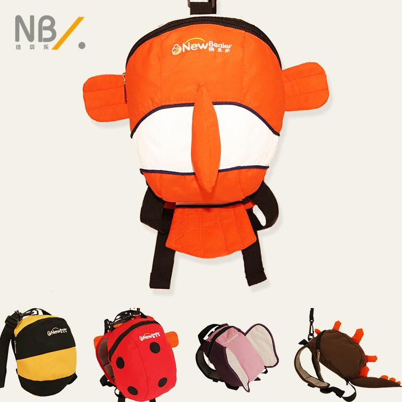 幼兒寶寶雙肩小書包1~3歲兒童男女小孩防走失丟失可愛卡通背包包