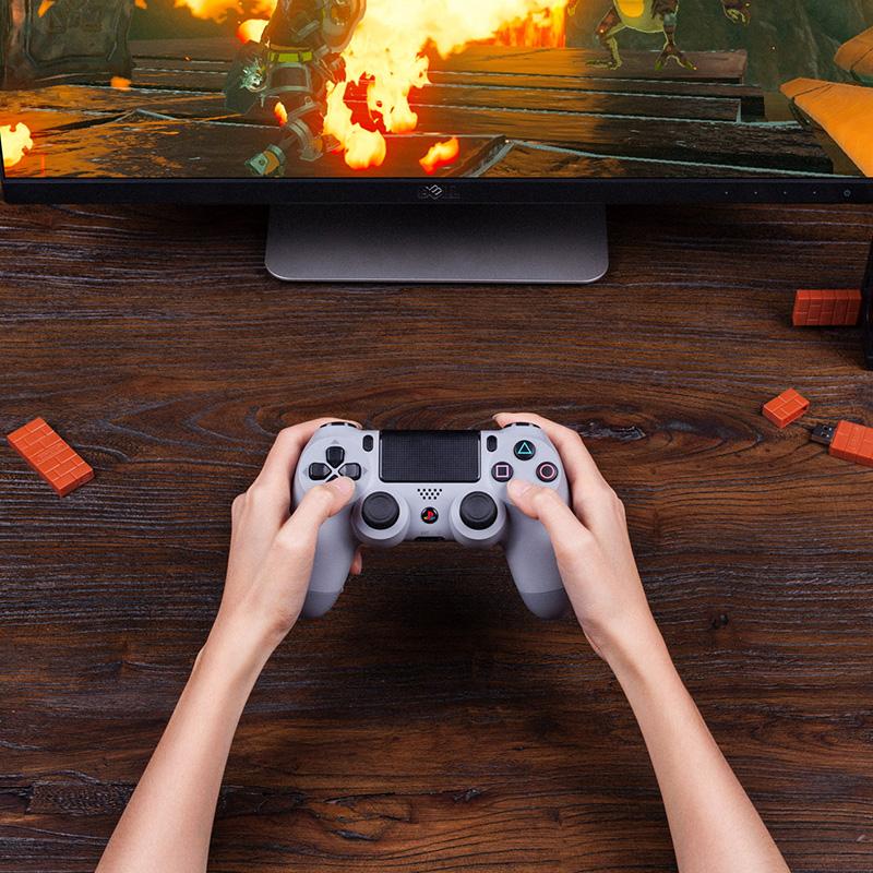 Восемь позиция зал USB беспроводной bluetooth приемник PC компьютер Switch игровой автомат малина пирог PS34 подожди обрабатывать использование