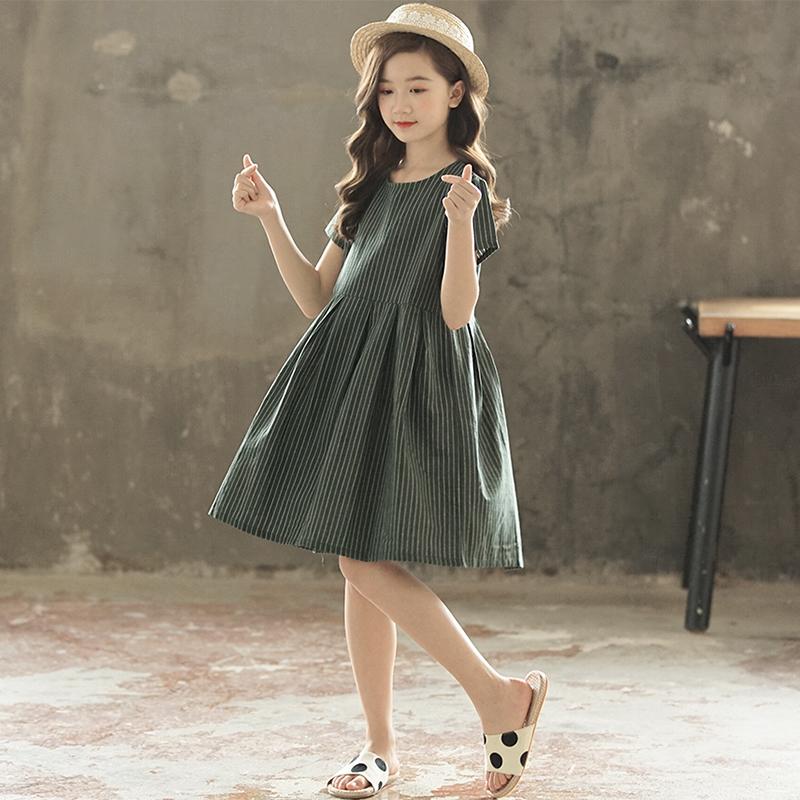 女童夏装短袖连衣裙2020 12儿童裙子
