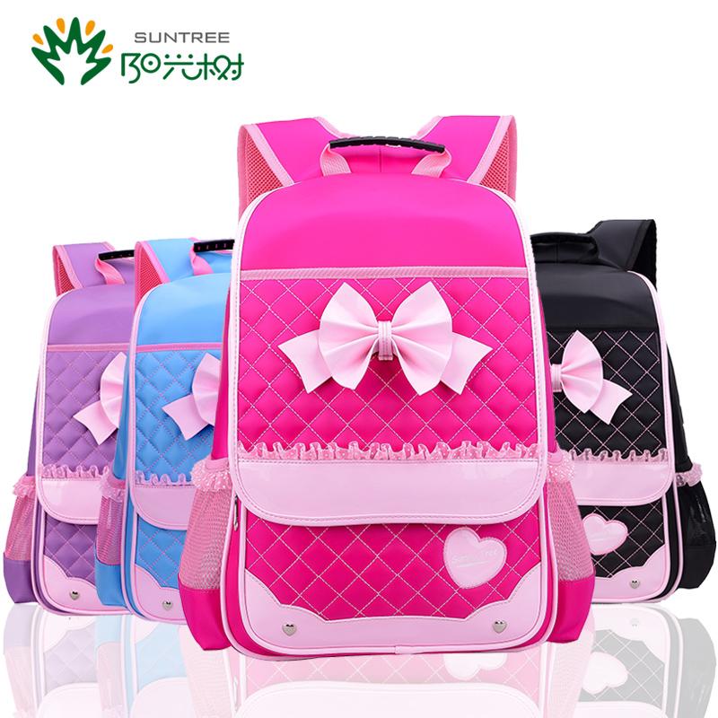 書包小學生女生 1~3~6年級可愛雙肩減負兒童背包6~12周歲女孩