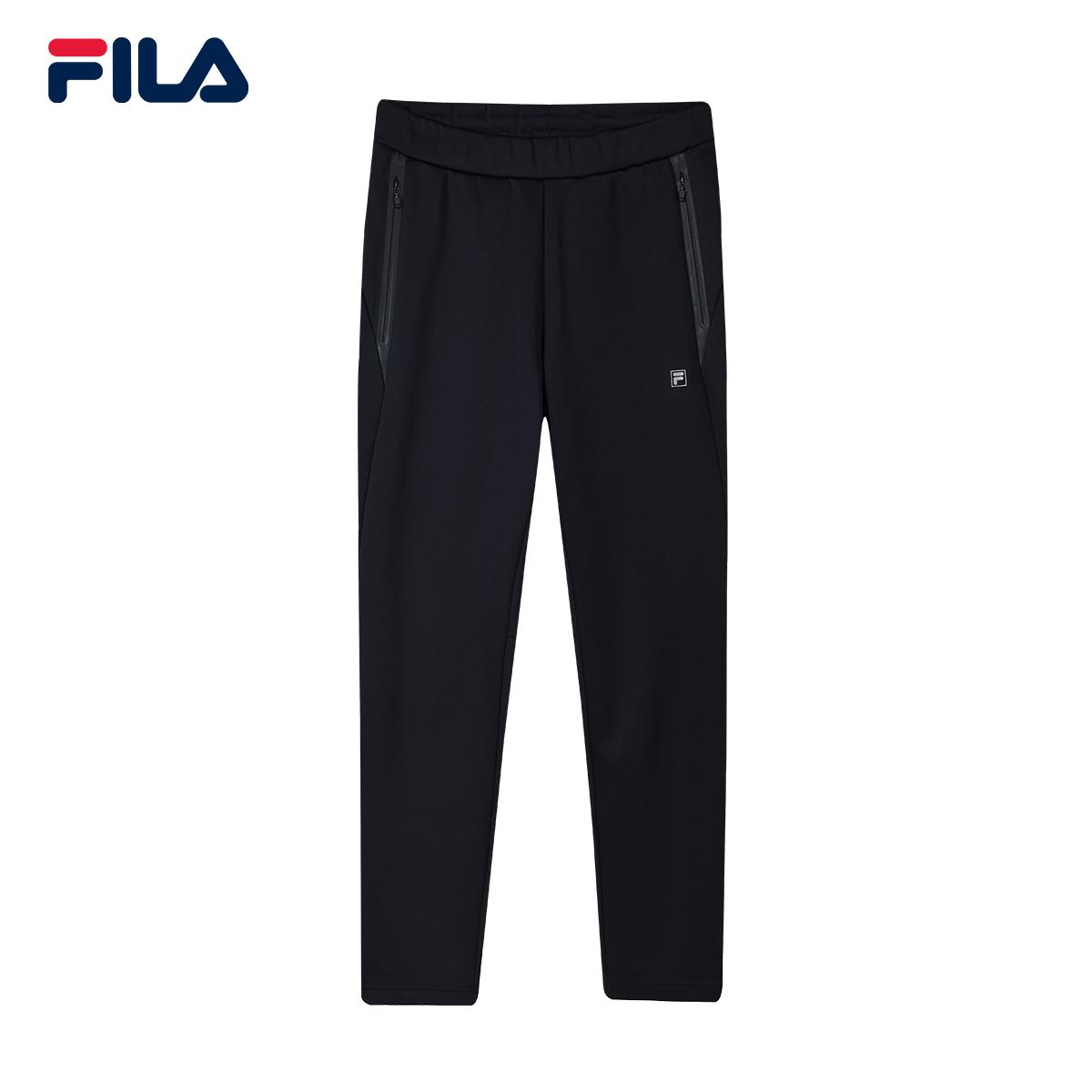 FILA斐乐长裤男2018冬季新品运动休闲裤跑步健身训练裤男裤子