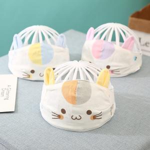 男女0-3个月6新生儿胎帽婴儿帽子