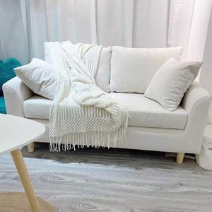 卧室双人沙发小户型公寓北欧简约现代经济型租房服装店网红小沙发