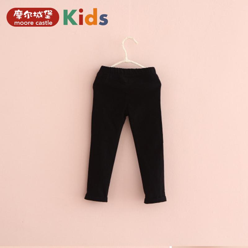 男童寶寶純色兒童小腳褲