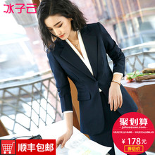 Professional women's wear 2019 new autumn and winter fashion temperament small suit suit suit Korean ol formal suit work suit