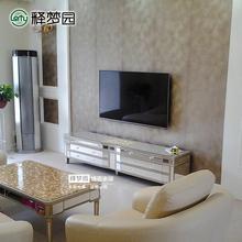 镜面电视柜 餐边柜 玻璃电视柜 新古典后现代家具 0425A