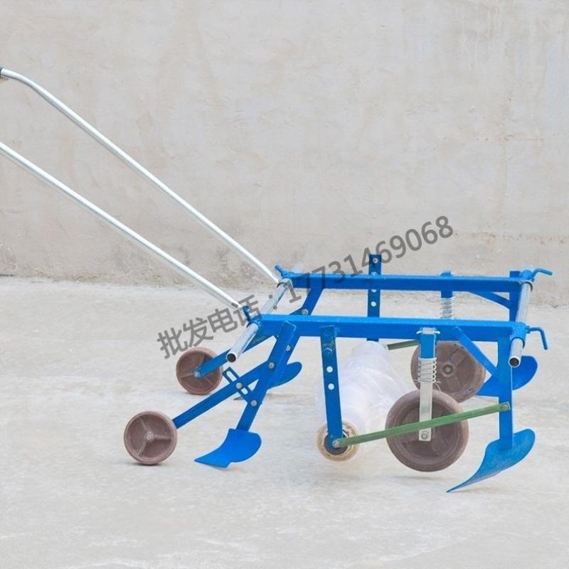 地膜覆盖机 多功能 农用铺膜机实用自动配件地膜机方便农用覆膜机