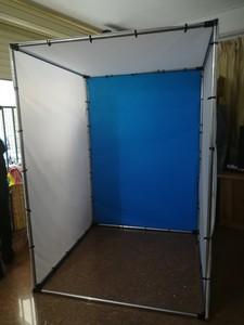 淘宝摄影棚LED摄影拍照证件简易拍摄照灯箱柔光箱道具器材