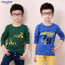 Children's T-shirt, Spring and Autumn Cotton Blouse, Boys'T-shirt, Boys' T-shirt, Boys'T-shirt, Middle-sized Boys' T-shirt