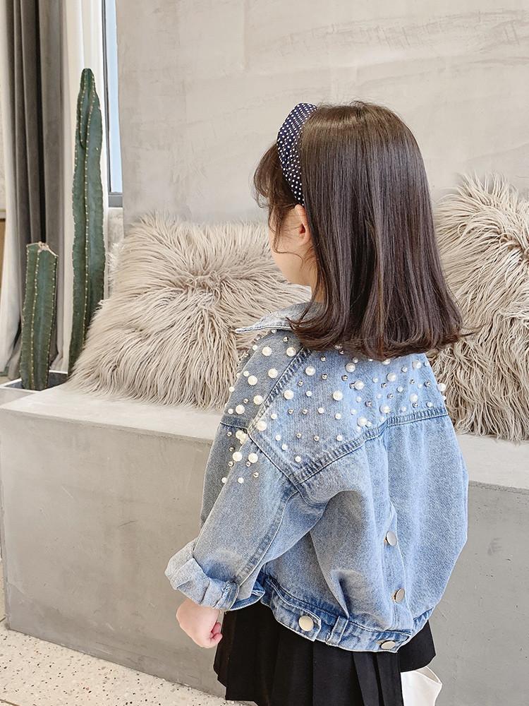 2020新款春秋装女童牛仔外套童装韩版潮流女宝宝洋气时尚外套6465