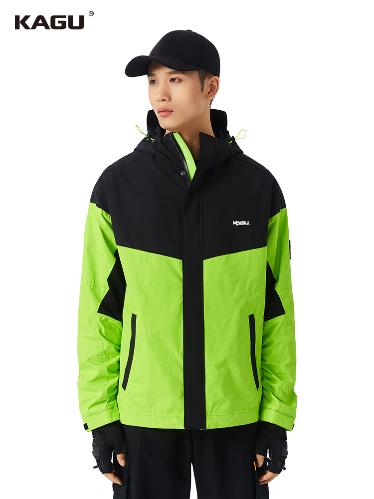 Kagu fashion and breathable assault suit mens hooded windproof function Outdoor Jacket waterproof coat spring and autumn tide brand