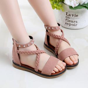 夏季2021新款韩版儿童罗马鞋沙滩鞋