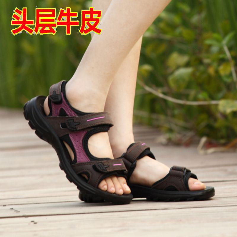 Boys sandals 13-15 years old boys Leather 2020 new 8 summer 14 middle school boys shoes