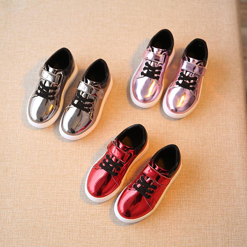 2017 годы девочек кожа обувь новой обуви Кожа Обувь мужская обувь Обувь ребенка Doug принцесса обувь Обувь для девочек