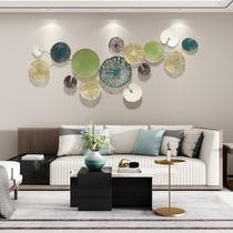 北欧轻奢铁艺家居客厅壁饰背景墙面创意卧室金属装饰壁挂艺术挂件
