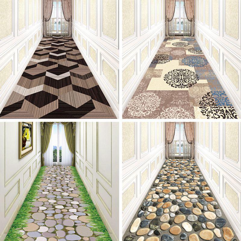 可定制任意裁剪门厅玄关地垫过道楼梯地毯防滑垫满铺宾馆走廊地毯