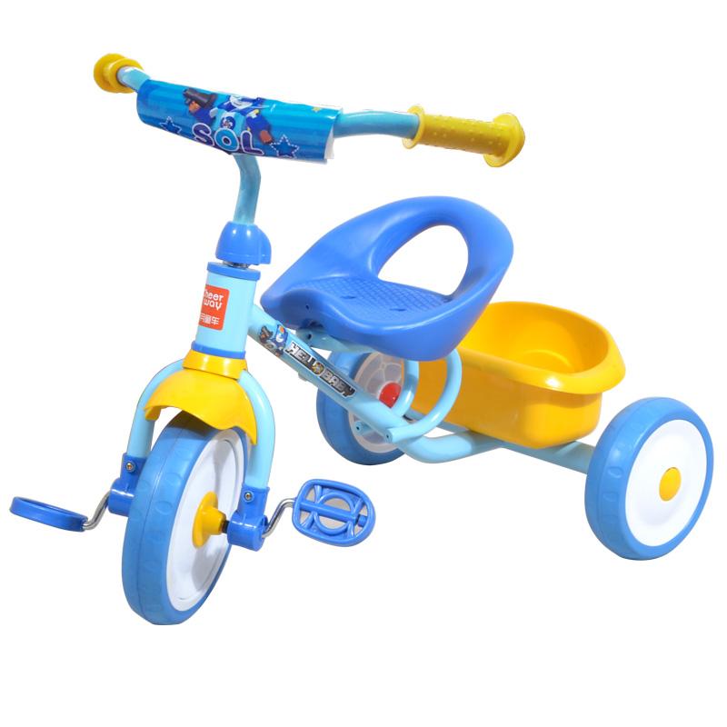 祺月兒童三輪車簡易輕便腳踏車2~3~4~5歲寶寶小孩自行車嬰兒童車