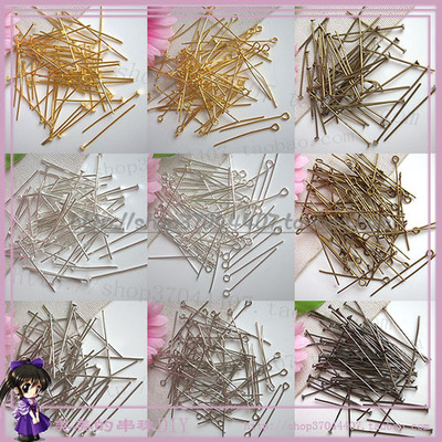 DIY beaded handmade material 9-pin / t-pin flat needle Cosplay spare parts