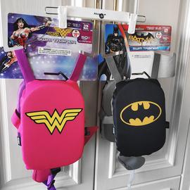 美国儿童游泳浮力背心马甲女童蝙蝠侠浮板浮圈男童泳衣臂圈辅助品图片
