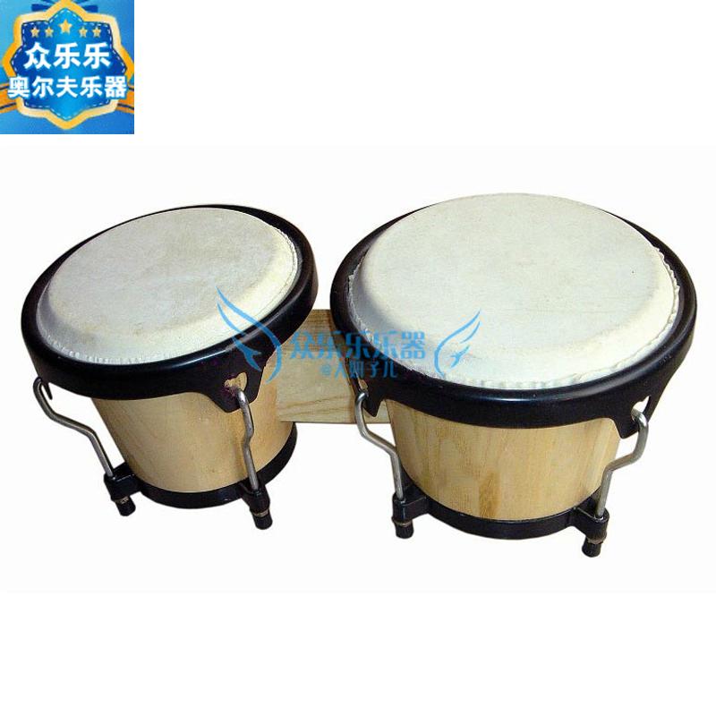 Спец. предложение Инструменты Orff Бангорские барабаны Bongo барабаны Африканские латинские барабаны детские Профессиональный перкуссионный инструмент тамбурина